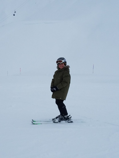 Jake Skiing