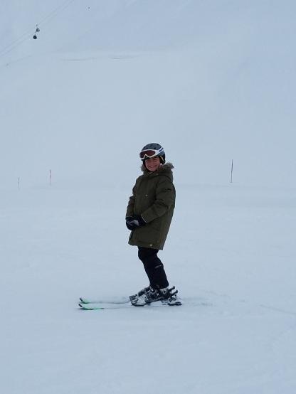 Jake Skiing