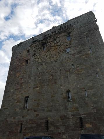 Cromwell's Cannon Damage to Borthwick